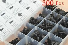 300 Pcs Car Push Pin Rivet Trim Clip Panel Body Interior Retainer Assortment