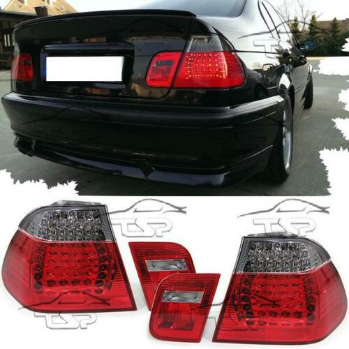 Trasero Led Luces Traseras Rojo-Humo Para BMW E46 98-01 Series 3 Lámpara de salón Nuevo