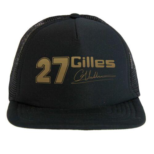 Campione Leggenda della Formula 1 Trucker Cap Cappello Gilles Villeneuve 27