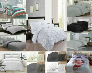 Duvet-Quilt-Covers-Luxury-Bedding-Set-Pillow-case-Fitted-Sheets-Double-King-Xmas