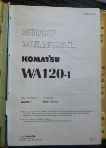 Komatsu Radlader WA 120-1 Werkstatthandbuch