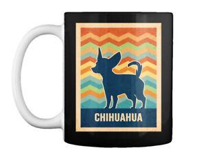 Retro Vintage Chihuahua Silhouette Gift Coffee Mug