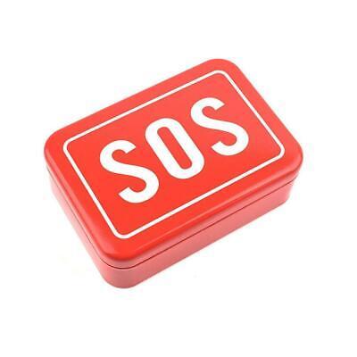 SOS Help Outdoor Sport Camping Hiking Survival Emergency Kit Box Tools UK