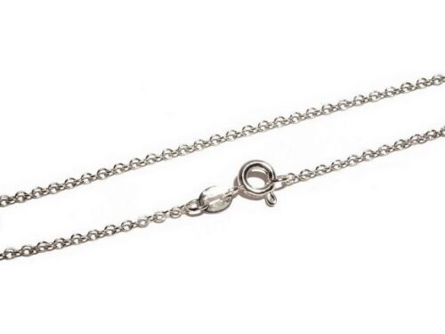 1,5 mm breit 925er Silber Kette Catania 50 cm lang