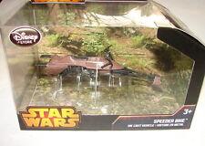 Star Wars Disney store 2014 Die cast Speeder Bike MISP ROTJ E VI            517