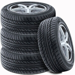 4 Falken @ Ohtsu FP7000 195/65R15 91H All Season Traction High Performance Tires