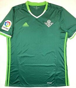 Details about Adidas REAL BETIS 2016/17 L Away Football Shirt Soccer Jersey Camiseta Top Kit
