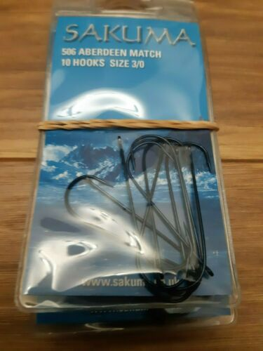 Sea Fishing Hook Sakuma 506 Aberdeen Match