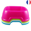Indexbild 1 - Grande Gamelle Carré Colorée 20cm pour Chien ou Chat Flashie