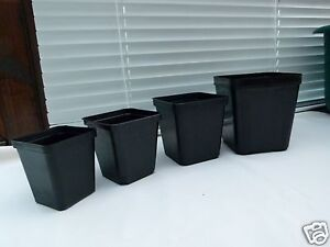Vierkant-Containertoepfe-50-Pflanztoepfe-Kakteen-Toepfe-Blumentopf