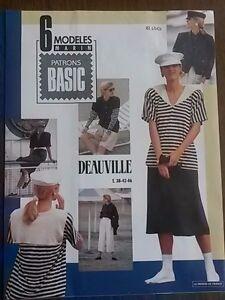 Vintage Paris France 6 x Nautical Sewing Patterns JacketSkirtShirtTrousers - Sheringham, United Kingdom - Vintage Paris France 6 x Nautical Sewing Patterns JacketSkirtShirtTrousers - Sheringham, United Kingdom