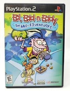 Ed-Edd-n-Eddy-The-Mis-Edventures-Sony-PlayStation-2-PS2-Game
