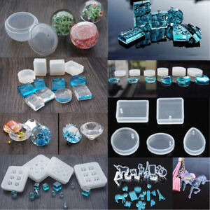 Making Jewelry Resin Casting Mould Gem
