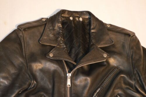 Mens Black Belted amp; Coat Leather L Large Paris Sandro Biker Jacket Zip f5Xqzza