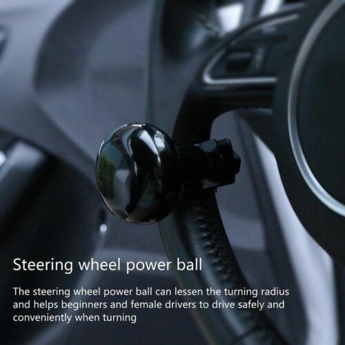 Steering Wheel Aid Carbon Spinner Handle Power Ball Knob Heavy Duty Car Truck