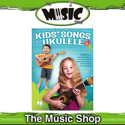 New Kids' Songs for Ukulele Music Book - Uke Songbook