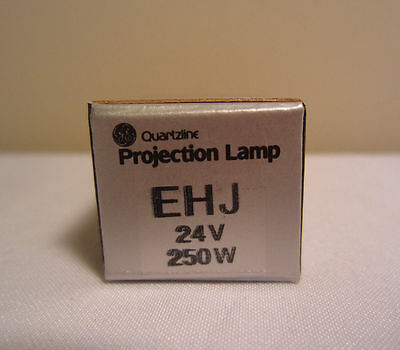 Ge General Electric Ehj 24v 250w Quartzline Projection Projector Lightbulb Lamp Pure En Milde Smaak