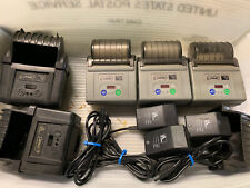 Lot Of 3 Zebra Cameo 3 Portable Thermal Receipt Printer Withbatteries Amp Chargers