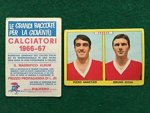 FIGURINA CALCIATORI PANINI 1967//68 VARESE ANASTASI