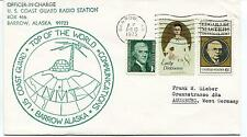 1973 U.S. Coast Guard Radio Station Barrow Alaska Communications Polar Cover