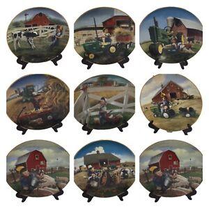 LITTLE-FARMHANDS-John-Deere-Danbury-Mint-Plates-by-Donald-Zolan-CHOICE