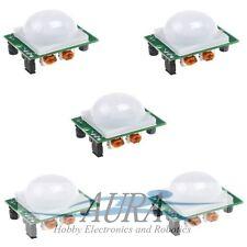 5 x PIR Movimento Sensore Rivelatore infrarosso hc-sr501 Arduino piroelettrico CCTV c502