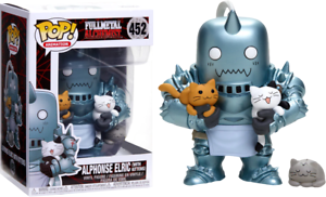 Exclusive-Alphonse-Elric-with-Kittens-Funko-Pop-Vinyl-New-in-Mint-Box-P-P
