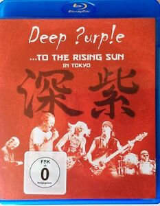 Deep Purple To The Rising Sole IN Tokyo 2015 18-track Blu-Ray Nuovo/Sigillato
