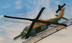 MICRO-MACHINES-Helicopter-UH-60A-Blackhawk-2-VERY-RARE