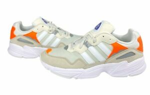 Adidas-Mens-Yung-96-Running-Shoes-Beige-Orange-F97179-Lace-Up-Low-Top-9-5-New