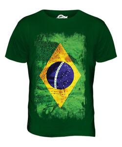 BRAZIL-GRUNGE-FLAG-MENS-T-SHIRT-TEE-TOP-BRASIL-FOOTBALL-BRAZILIAN-GIFT-SHIRT