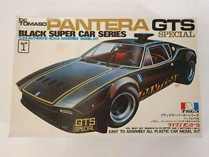 NAKAMURA DE TOMASO PANTERA GTS SPECIAL MOTORIZED WITH LIGHTNING 1/24 MODEL KIT