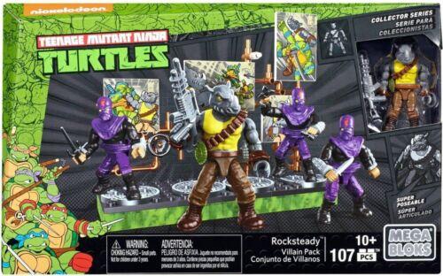 Teenage Mutant Ninja Turtles Mega Bloks Rocksteady gredin /& Bebop 2 To Choisir