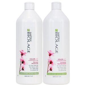 Matrix Biolage Colour last Shampoo & Conditioner DUO (1 Litre) 1000ml + 2 Pumps