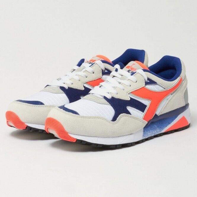 Men's Diadora N9002 Runner Sneakers White orange