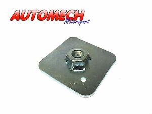 Large-Harness-Seat-Belt-Eye-Bolt-Backing-Plate-65x65x3mm-FIA-MSA-SVA-Approved