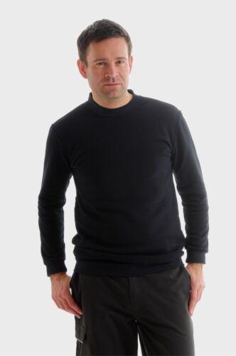 Xcelcius Flame Retardant Protex Men Navy or Black Sweatshirt