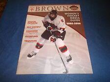 2005-06 Brown University Women's Ice Hockey Guide