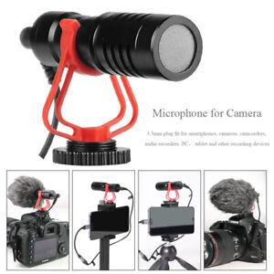 3-5-mm-Interview-Shotgun-MIC-Video-Microphone-Pour-DSLR-Camera-amp-Smartphones