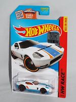 Hot Wheels 2015 Factory Set 1/450 Kmart Color Ford Shelby Gr-1 Concept White