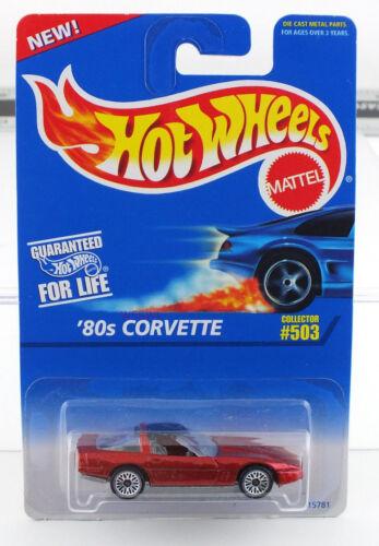 MINT CAR FROM DEALERS CASE Hot Wheels 80s Corvette #503