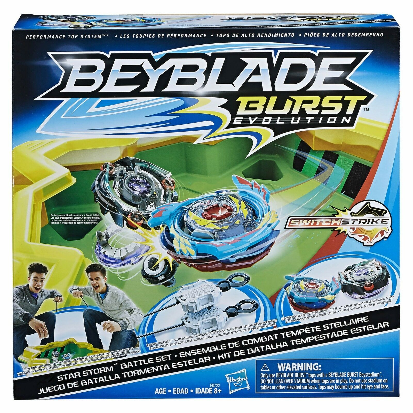 Beyblade Beystadium Burst Evolution Star Storm Battle Arena Stadium Set