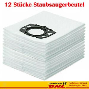 12 X Staubsaugerbeutel Für Kärcher WD MV 6 P Premium 1.348-277.0 Staubsauger