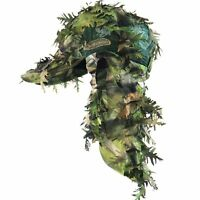 Quikcamo Rear Mothwing Ghilly Kloak Hat Facemasks Hunting Quik Camo Mask Vented