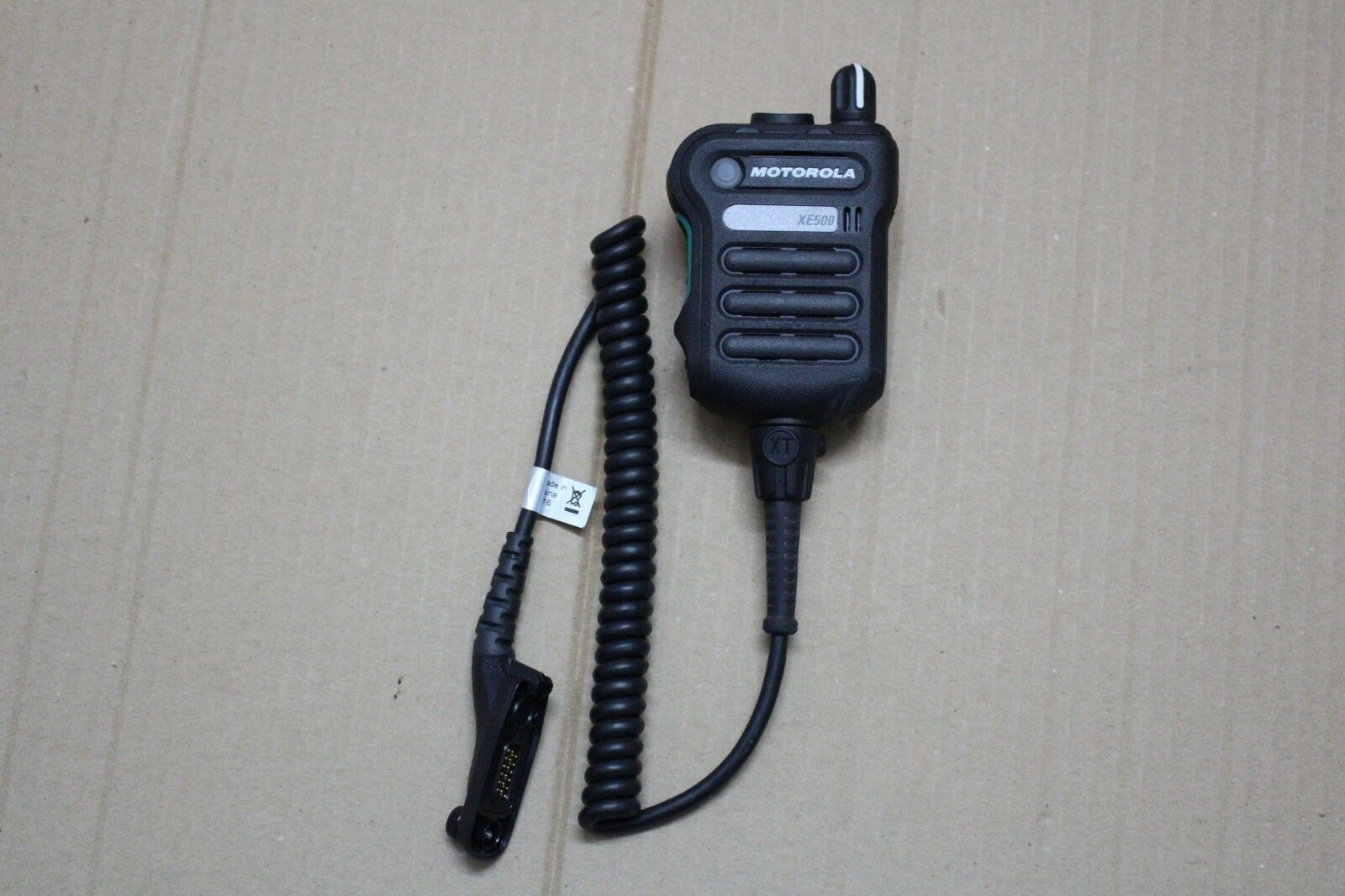 Motorola APX7000 APX8000 PMMN4106A XE500 Extreme Remote Speaker Mic - BLACK. Buy it now for 288.00