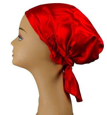 Silky feel Satin Cap for Sleep Women Hair Wrap