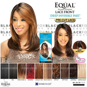 Bailey Freetress Equal Synthetic Deep Invisible Part Pre