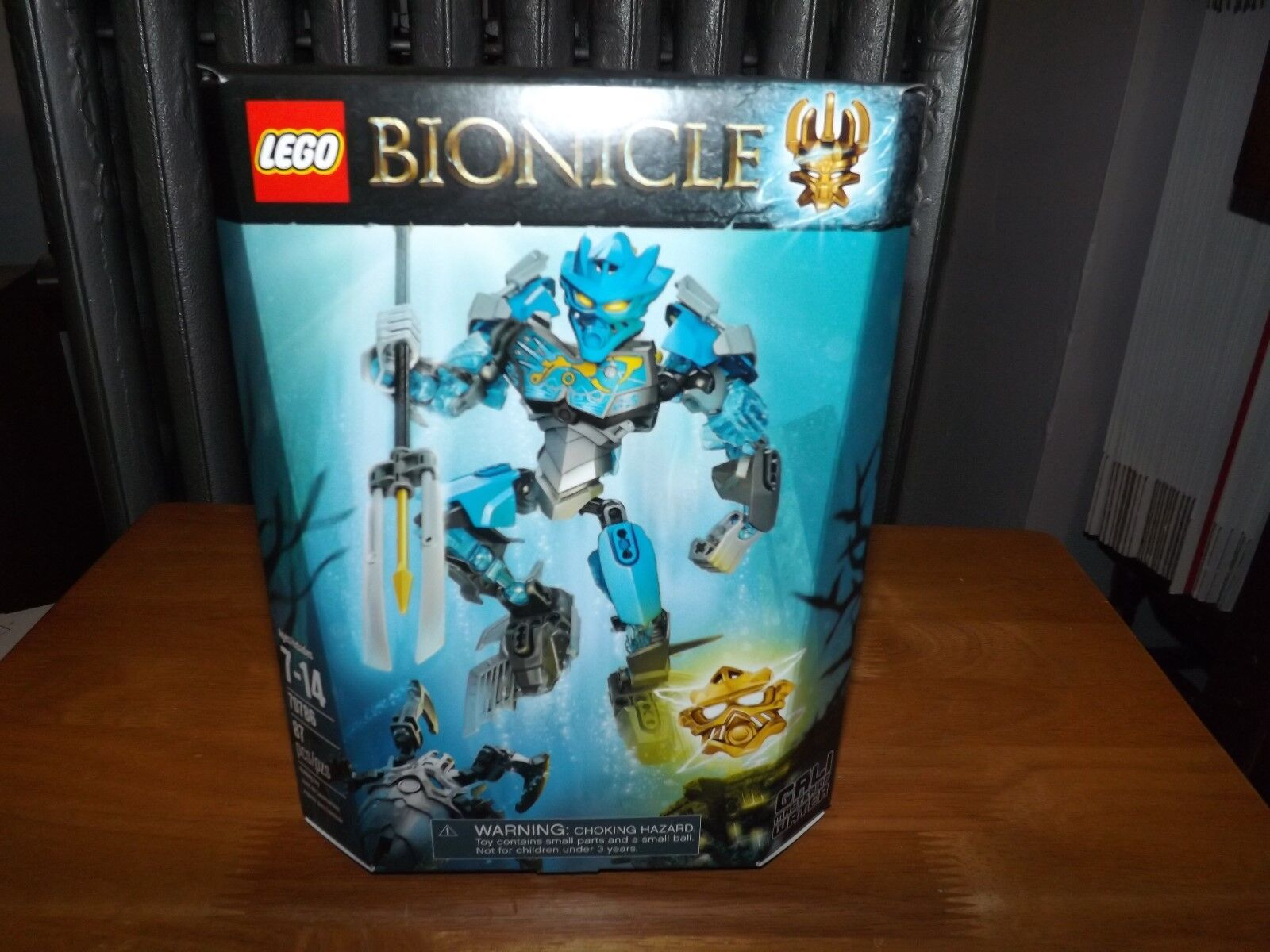 LEGO, BIONICLE, GALI MASTER OF WATER, KIT  70786, 87 PIECES, NIP, 2015