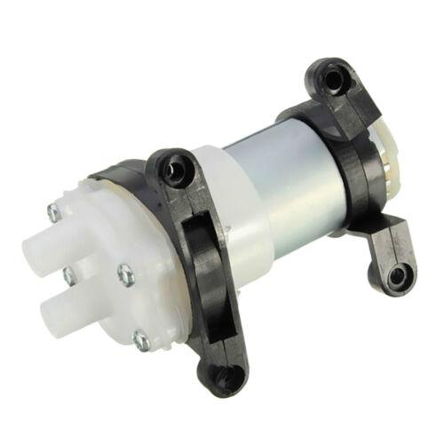 DC 6-12V 0.5-0.7A R385 Miniature Fish Water Tank Diaphragm Water Air Pump