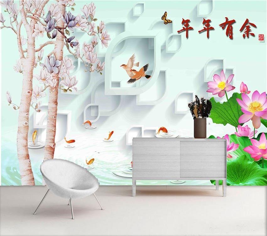 Fresh Preceding Hill 3D Full Wall Mural Photo Wallpaper Printing Home Kids Decor